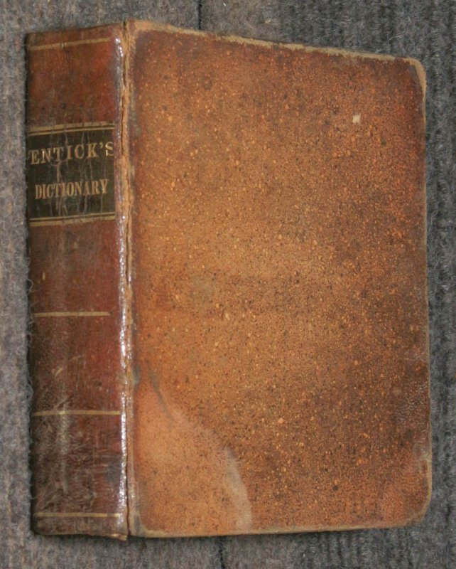 Image for Tyronis Thesaurus : Or, Entick's Latin-english Dictionary With A Classical Index Of The Preterperfects And Supines Of Verbs. Designed For The Use Of Schools