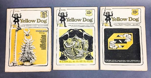 Image for Yellow Dog. Numbers 1-12 In 10 Issues 1968-1969