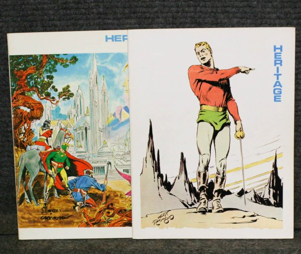Image for Set Of 8 Flash Gordon Volumes. (1-6) 1990