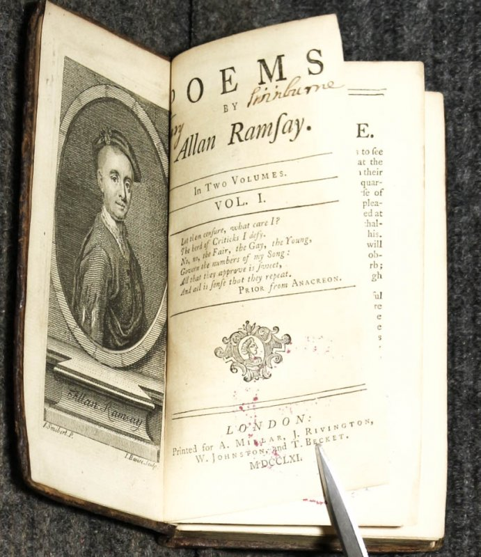 Image for Poems By Allan Ramsay.