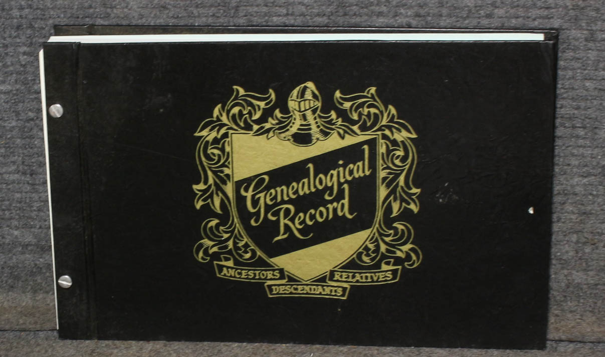 Image for Genealogical Record- Ancestors Relatives, Descendants -book Of Record Keepting Forms