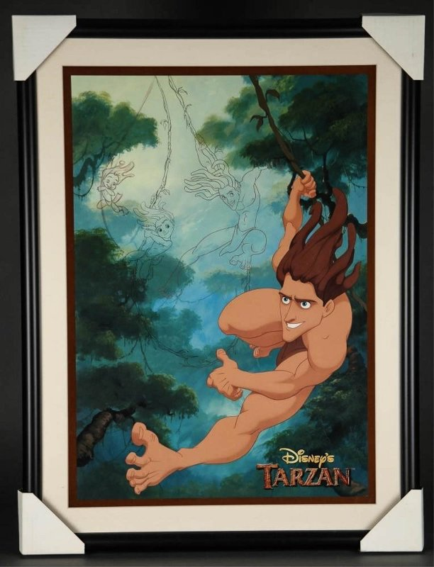 Image for [ Disney] Sericel Limited Edition Animation. Tarzan