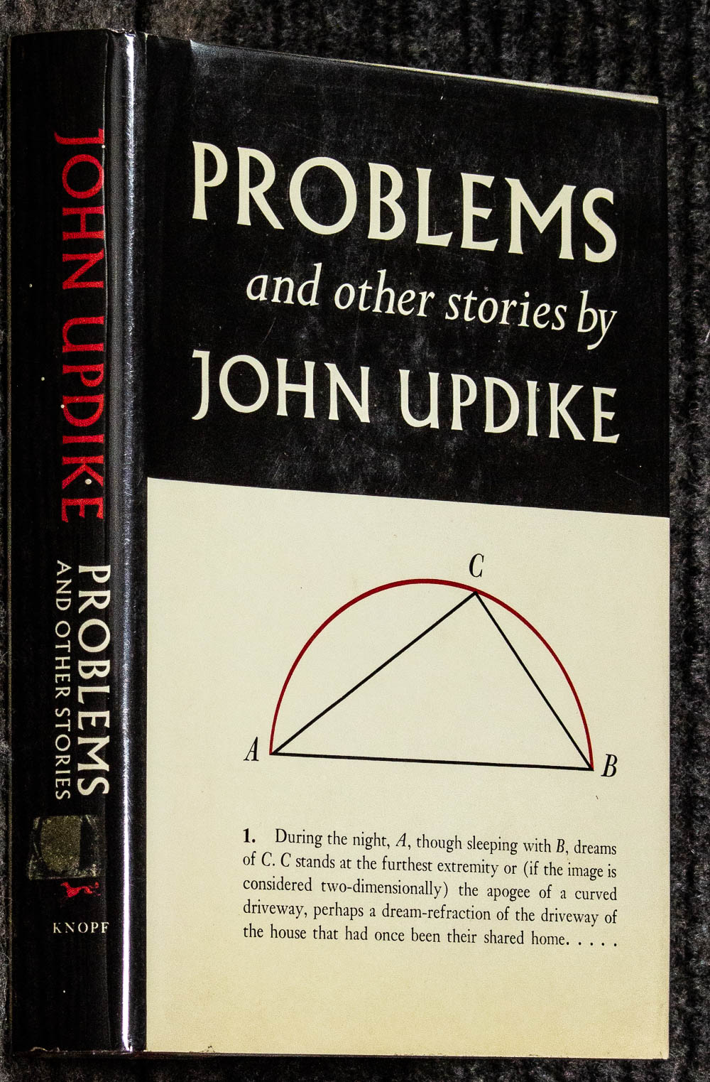 Image for Problems And Other Stories (signed Advance Review Copy]