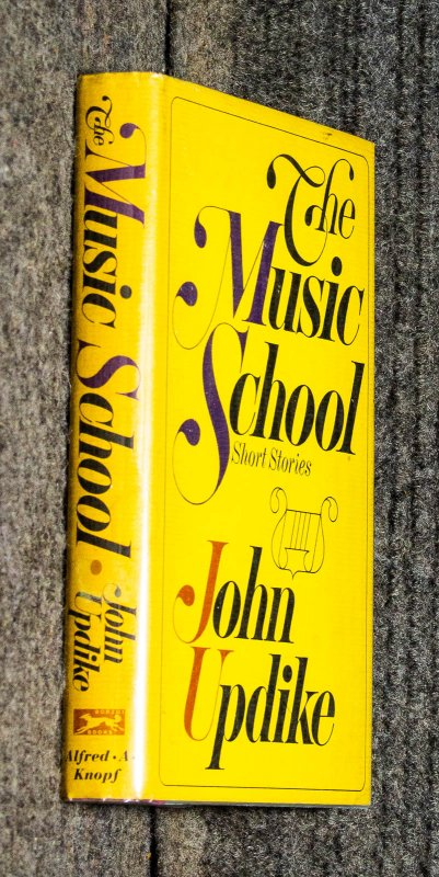 Image for The Music School: Short Stories [1st Ed 2nd Issue]