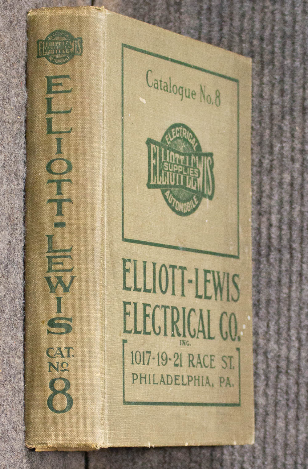 Image for Elliot- Lewis Electrical Co. Inc. Catalogue No. 8