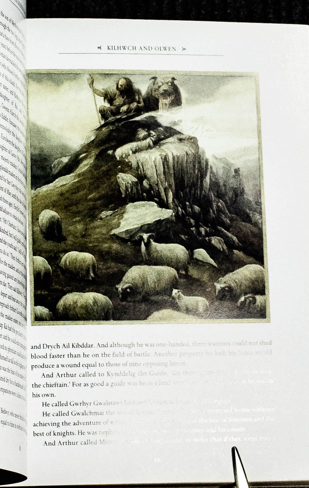 Image for The Mabinogion Illustrated & Signed Alan Lee With Cert Of Authenticity