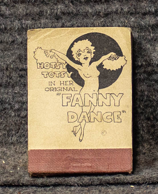 "Image for Hotsy Totsy [flipbook.] In Her Original Fanny Dance [miniature 2"" X 3""]"