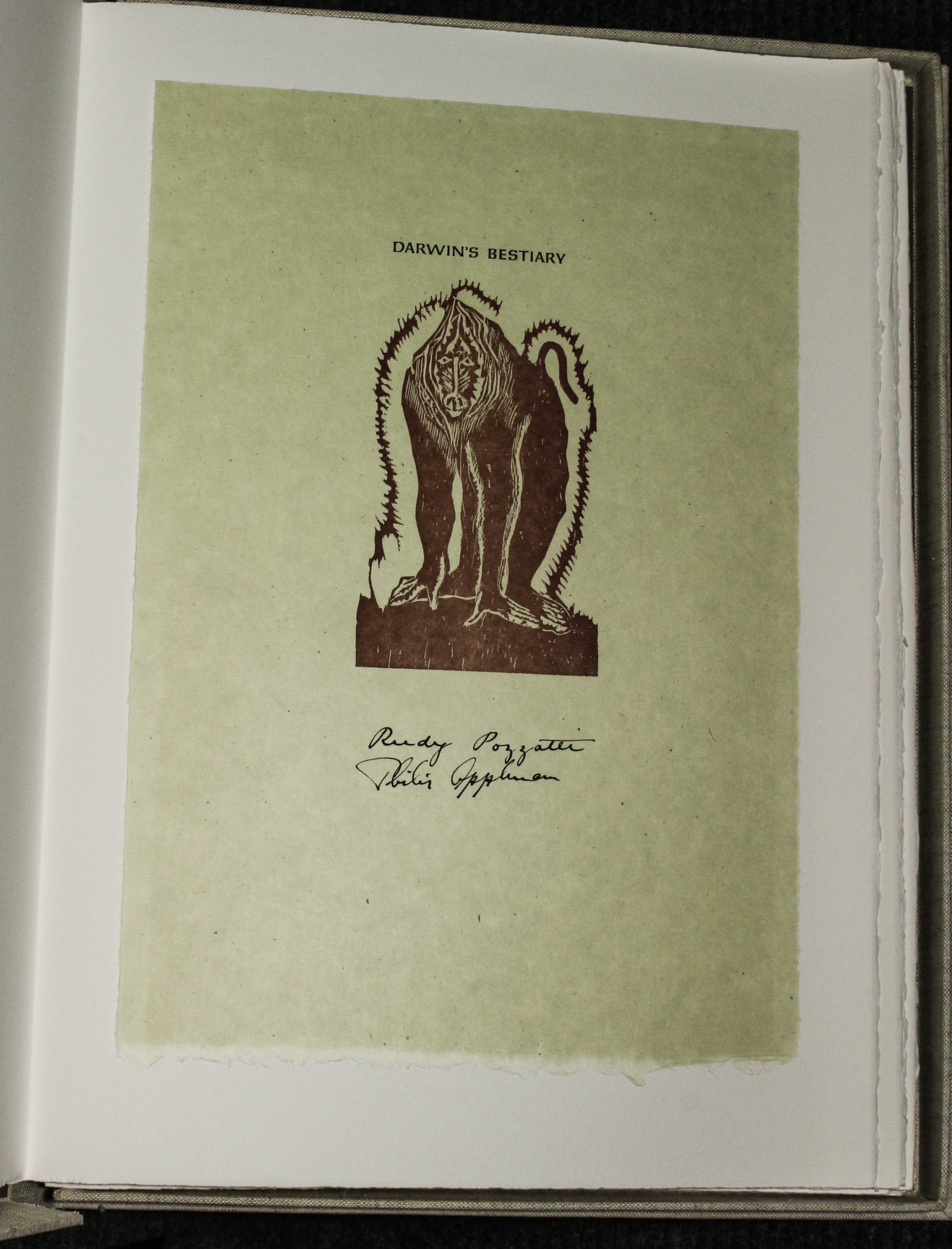 Image for Darwin's Bestiary. Signed By Author & Illustrator