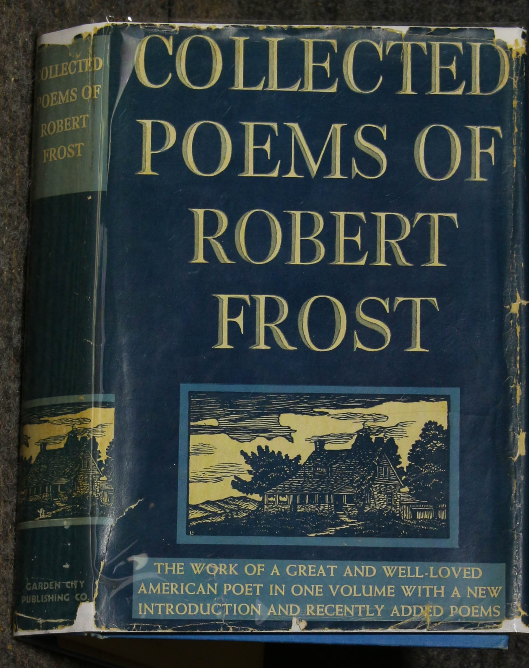 Image for Collected Poems Of Robert Frost Signed By Frost
