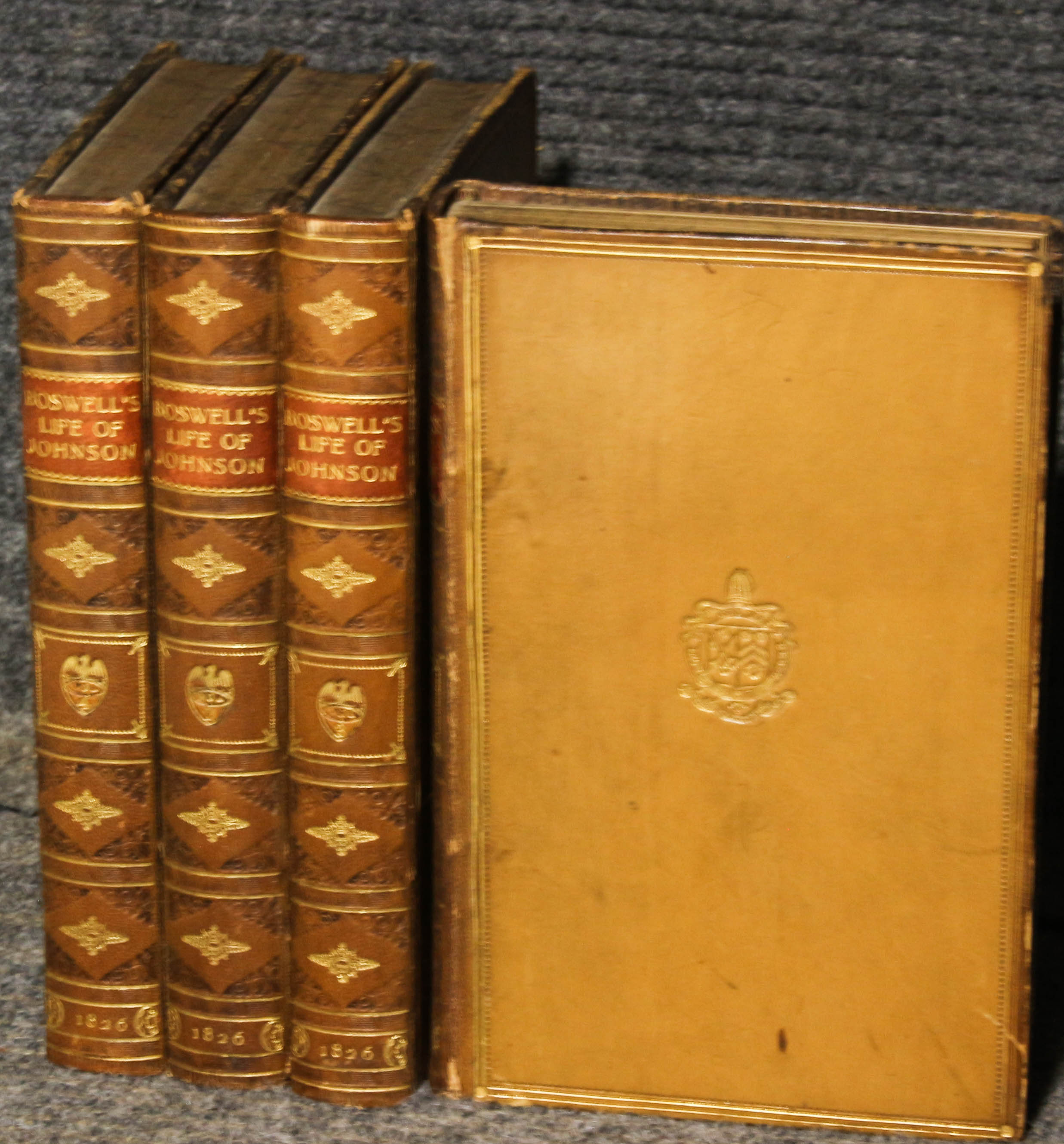 Image for The Life Of Samuel Johnson. 4 Vols. Complete Biography