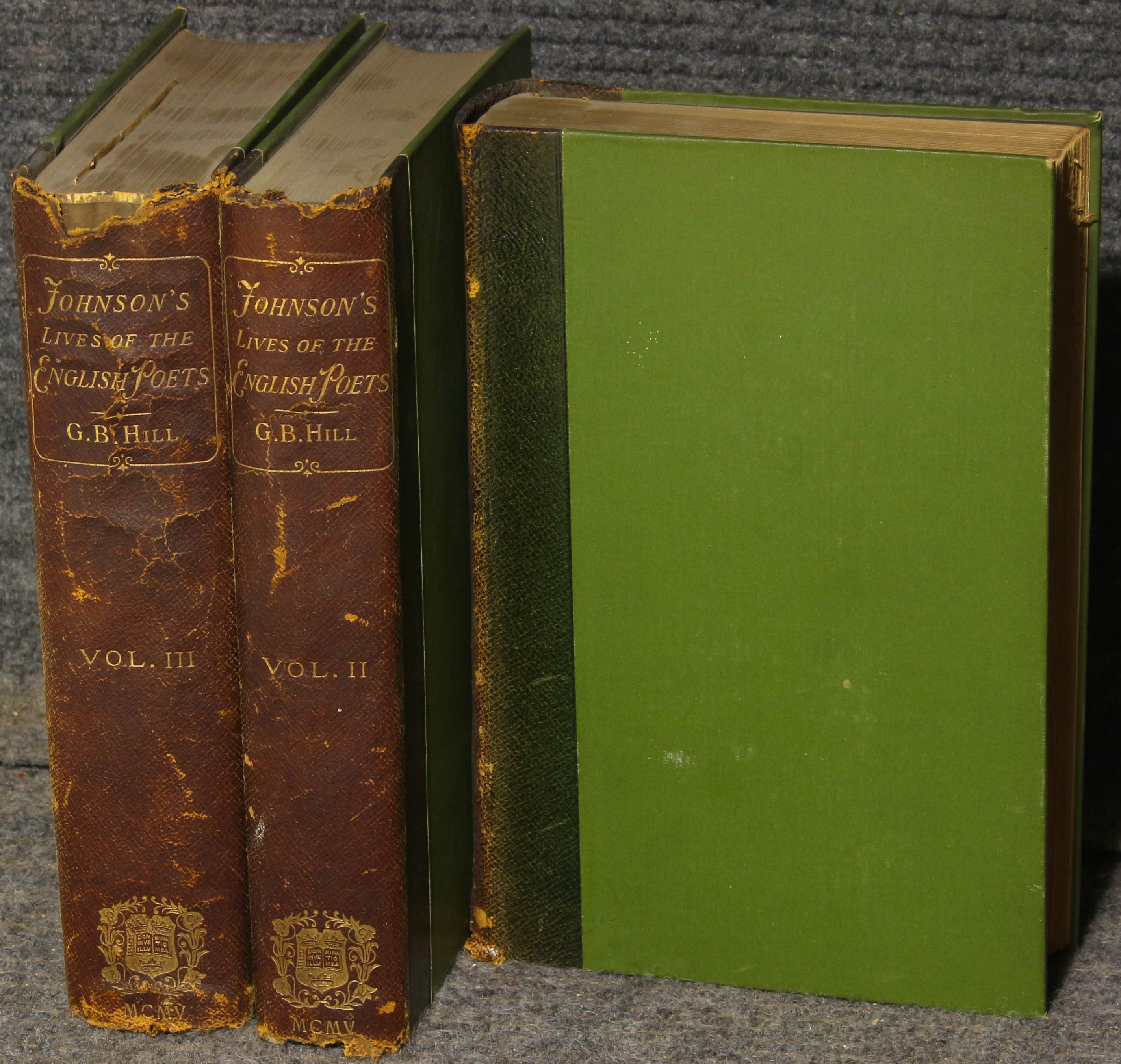 Image for Lives Of The English Poets 3 Vols Ct Biographies