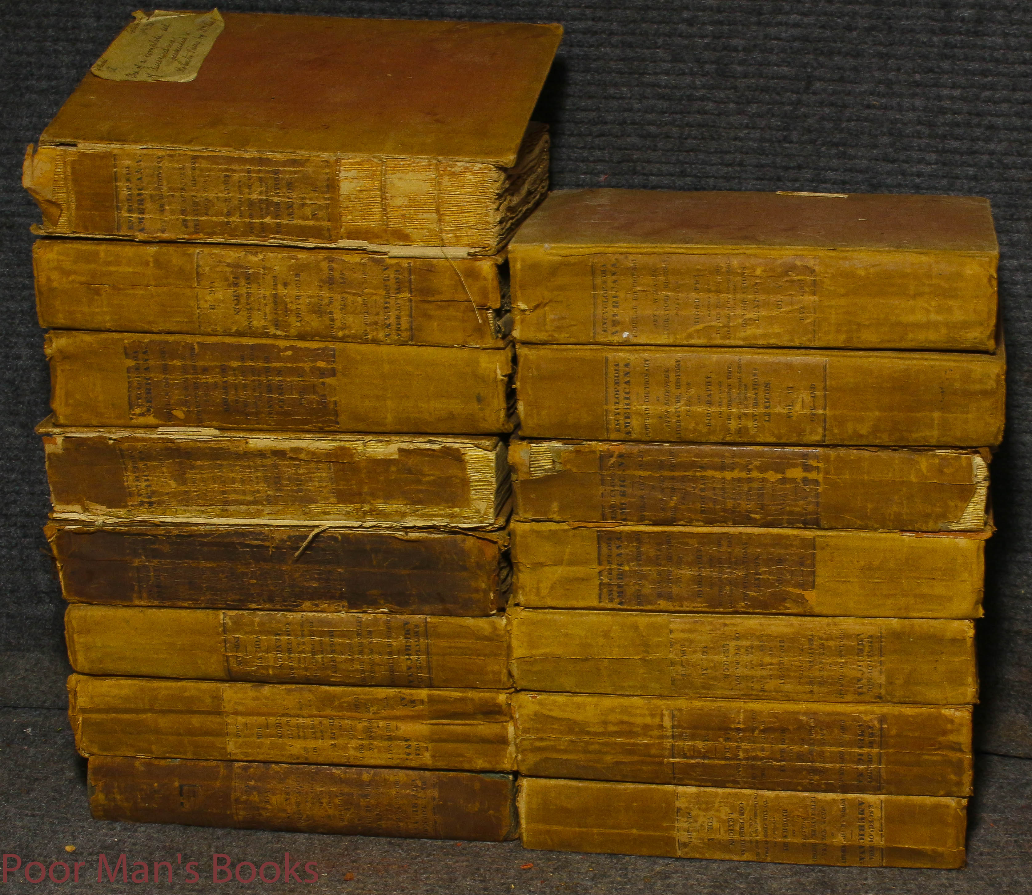Image for Encyclopedia Americana; A Popular Dictionary; 13 Volumes 1829-1833 Inscribed By Author Presentation Copy.