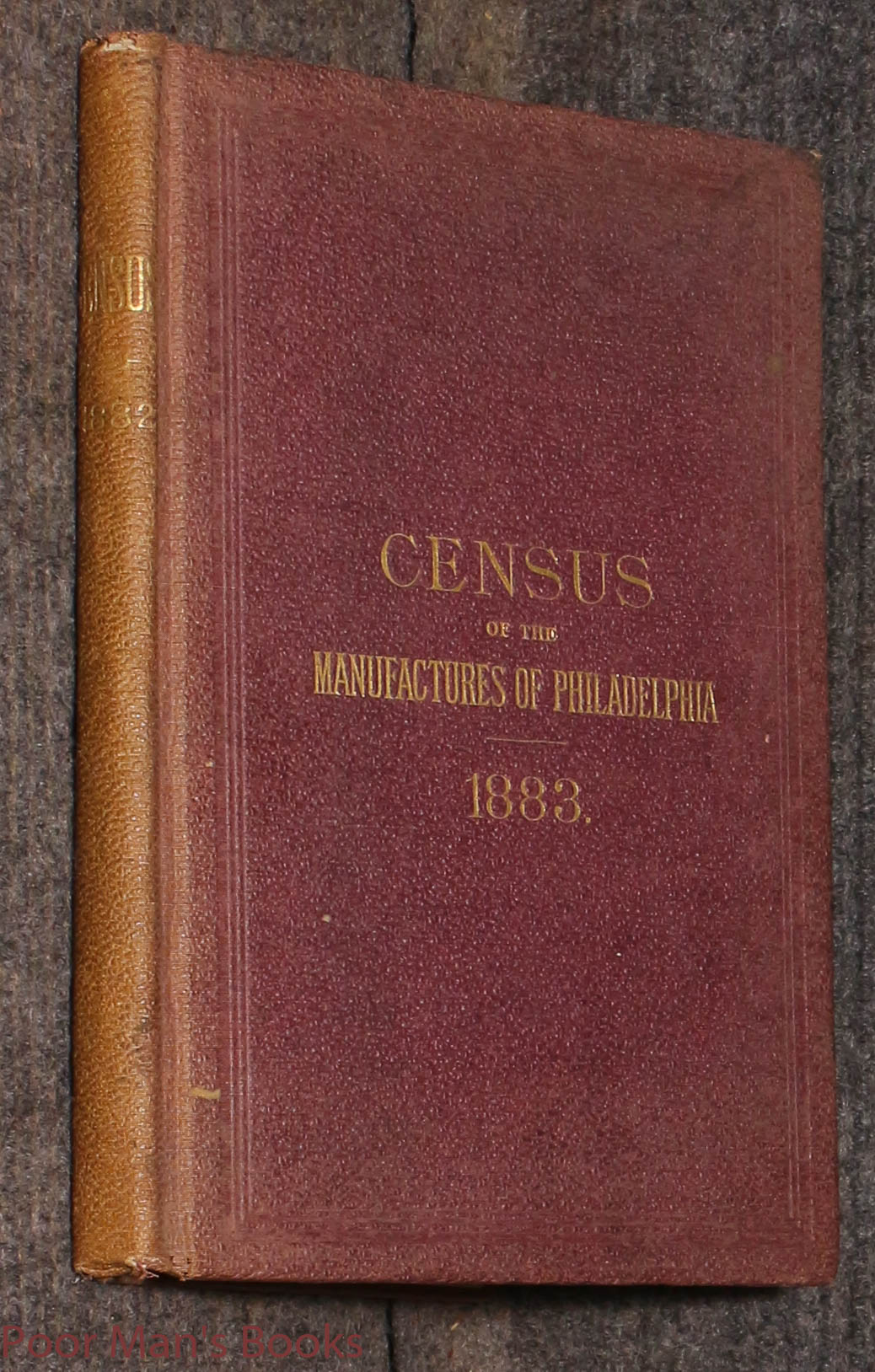 Image for Census Of The Manufacturers Of Philadelphia 1883