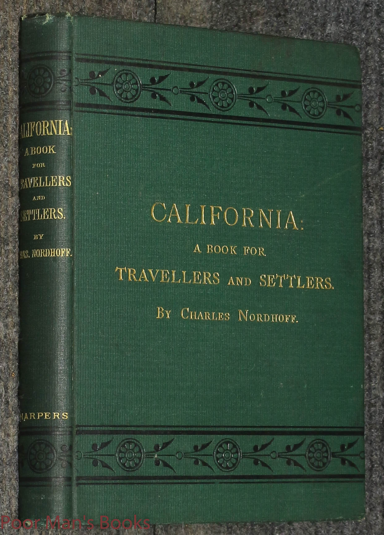 Image for California: For Health, Pleasure, And Residence. A Book For Travellers And Settlers,1st/1st 1874