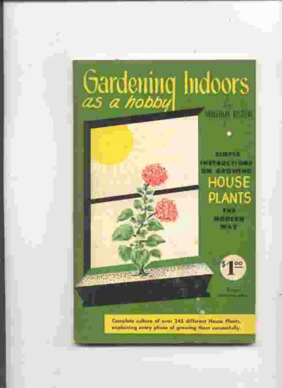 Image for GARDENING INDOORS AS A HOBBY