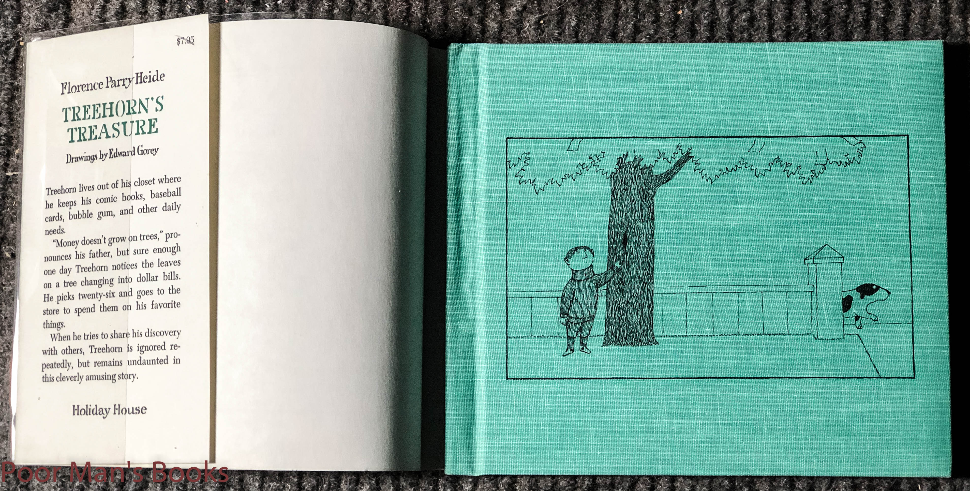 Image for Treehorn's Treasure 1971/1981 Reprint Signed By Author And Artist