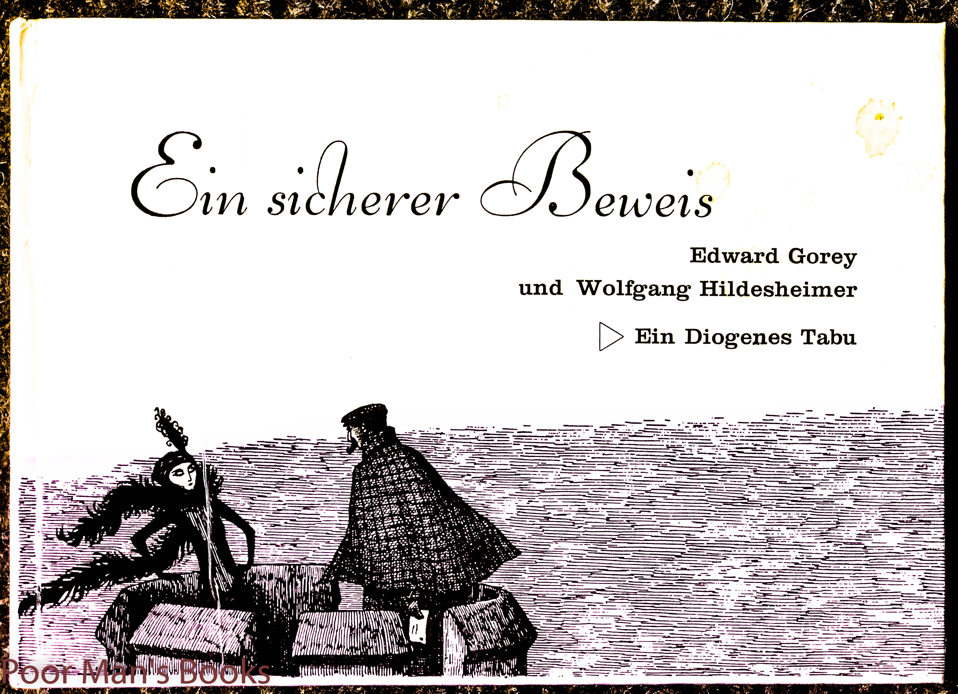 Image for Ein Sicherer Beweis. First German Edition, Signed Gorey