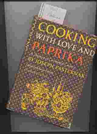 Image for COOKING WITH LOVE AND PAPRIKA. A TREASURY OF CONTINENTAL COOKERY.