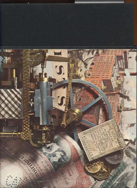 Image for THE AMERICAN HERITAGE HISTORY OF AMERICAN BUSINESS & INDUSTRY DE LUXE EDITION