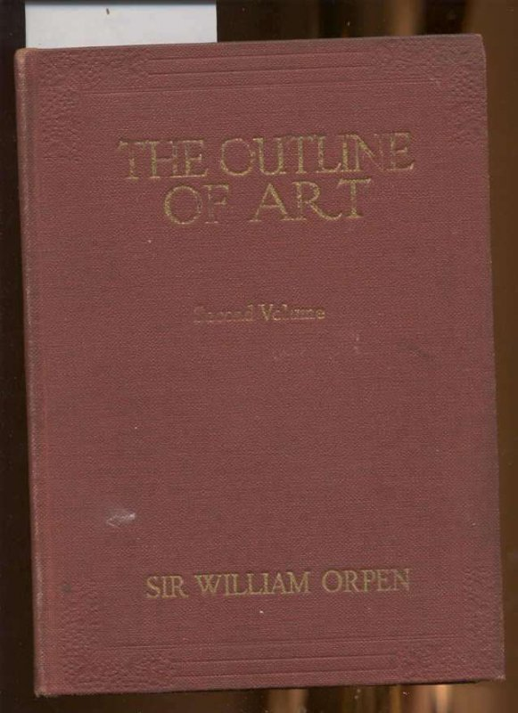 Image for THE OUTLINE OF ART, VOLUME 2