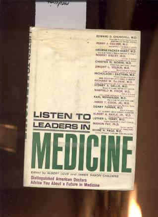Image for LISTEN TO LEADERS IN MEDICINE