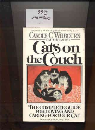 Image for CATS ON THE COUCH: THE COMPLETE GUIDE FOR LOVING AND CARING FOR YOUR CAT.