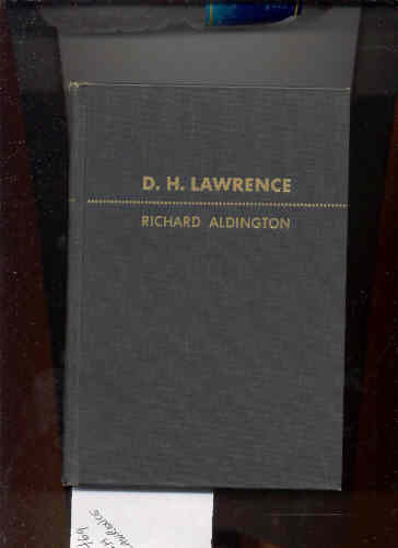 Image for D. H. LAWRENCE PORTRAIT OF A GENIUS BUT...