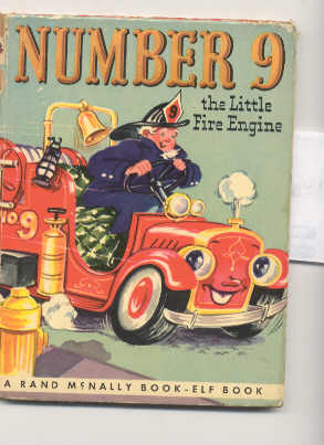 Image for NUMBER 9 THE LITTLE FIRE ENGINE