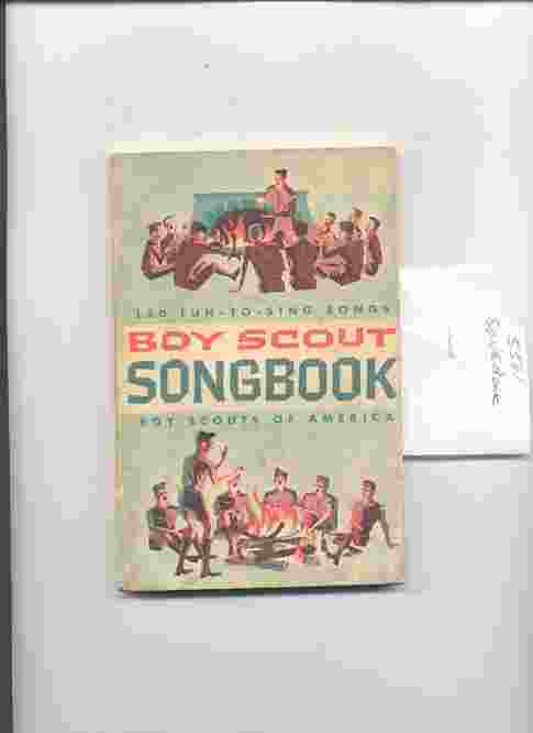 Image for BOY SCOUT SONGBOOK