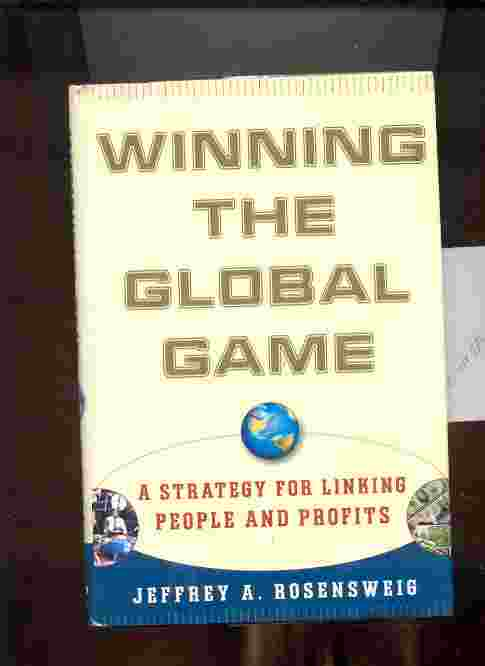 Image for WINNING THE GLOBAL GAME
