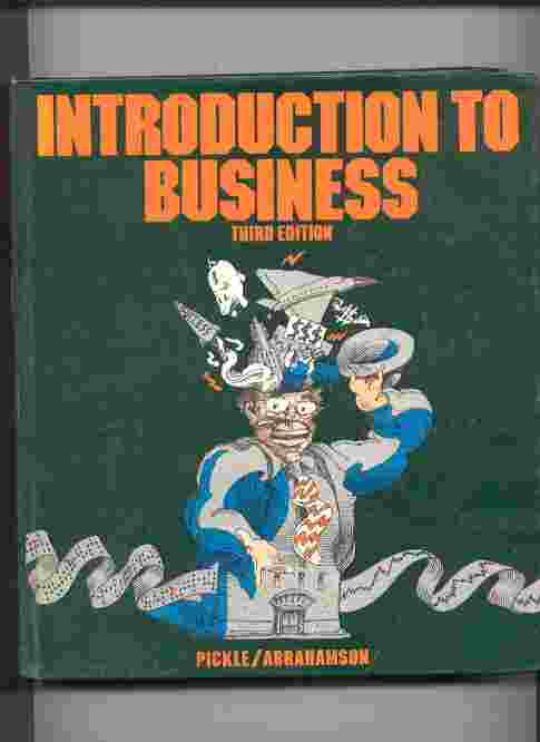 Image for INTRODUCTION TO BUSINESS Third Edition