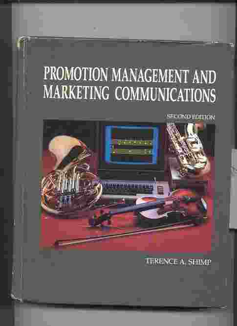 Image for PROMOTION MANAGEMENT AND MARKETING COMMUNICATIONS
