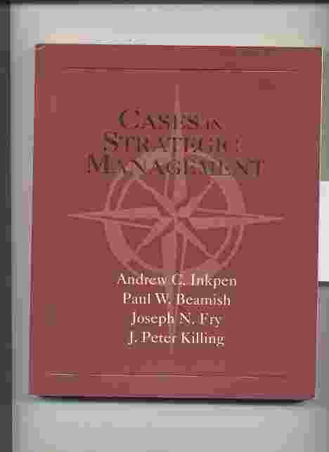 Image for CASES IN STRATEGIC MANAGEMENT