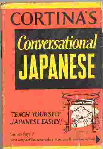 Image for CORTINA'S CONVERSATIONAL JAPANESE
