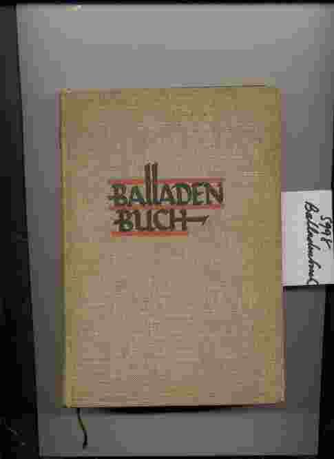 Image for BALLADENBUCH