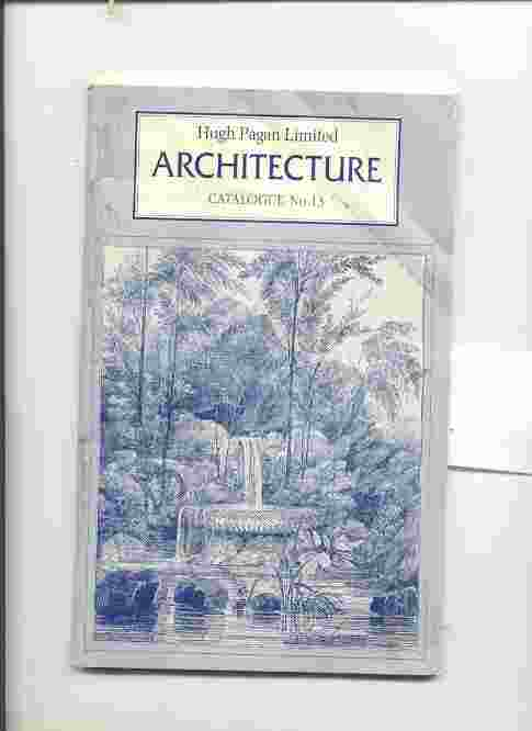 Image for ARCHITECTURE CATALOGUE NO. 13
