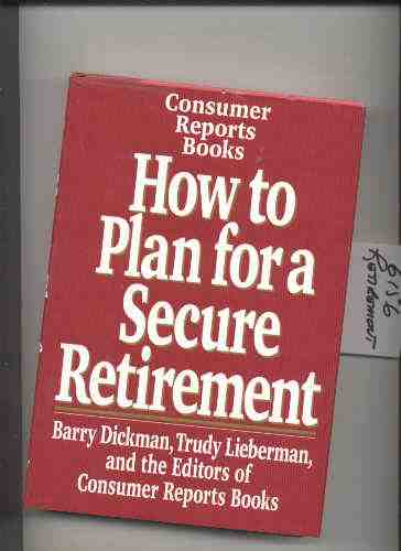 Image for HOW TO PLAN FOR A SECURE RETIREMENT