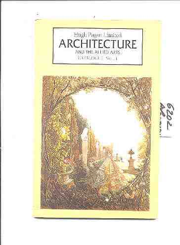 Image for ARCHITECTURE AND THE ALLIED ARTS. Cat. 14/1992