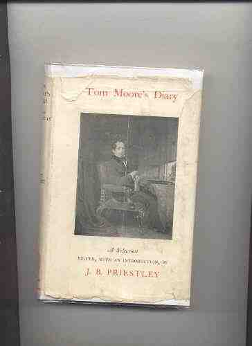 Image for TOM MOORE'S DIARY: A SELECTION EDITED, WITH AN INTRODUCTION BY J.B. PRIESTLEY
