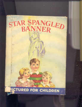 Image for THE STAR SPANGLED BANNER PICTURED FOR CHILDREN