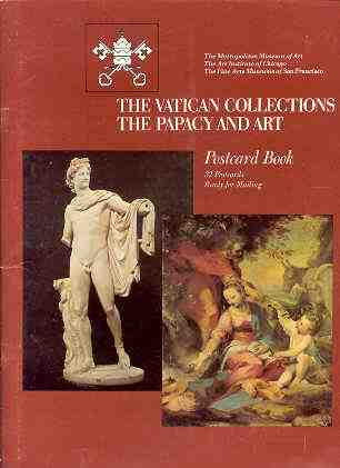 Image for THE VATICAN COLLECTIONS THE PAPACY AND ART POSTCARD BOOK 32 Postcards Ready for Mailing