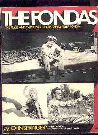 Image for THE FONDAS: THE FILM CAREERS OF HENRY, JANE AND PETER FONDA
