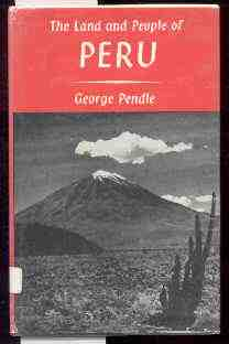 Image for THE LAND AND PEOPLE OF PERU
