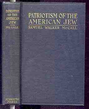 Image for PATRIOTISM OF THE AMERICAN JEW