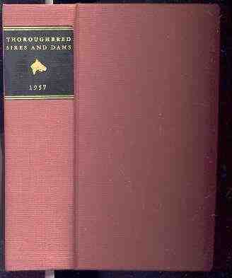Image for THOROUGHBRED SIRES AND DAMS 1957