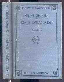 Image for SHORT STORIES BY FRENCH ROMANTICISTS