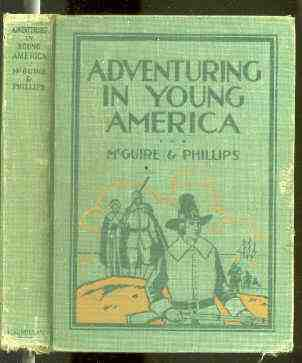 Image for ADVENTURING IN YOUNG AMERICA