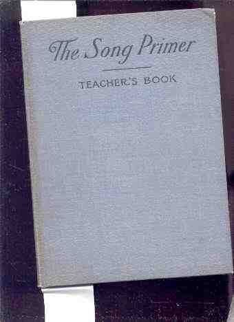 Image for THE SONG PRIMER Teacher's Book
