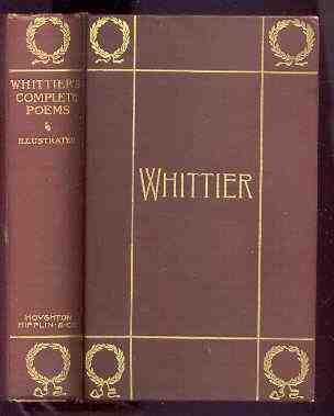 Image for THE COMPLETE POETICAL WORKS OF JOHN GREENLEAF WHITTIER