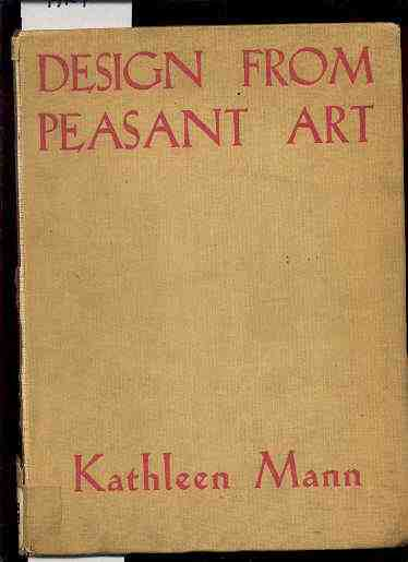 Image for DESIGN FROM PEASANT ART
